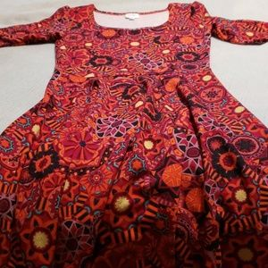 LIKE NEW LULAROE DRESS
